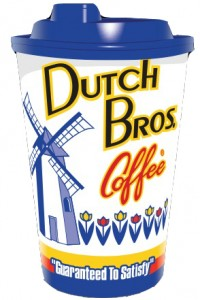 Dutch Brothers white background