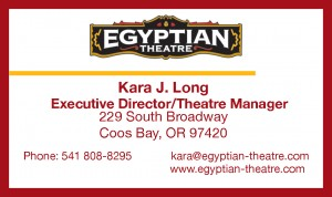 Kara J Long Business Card w border